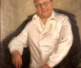 Radnóti Kovács Árpád olajportré